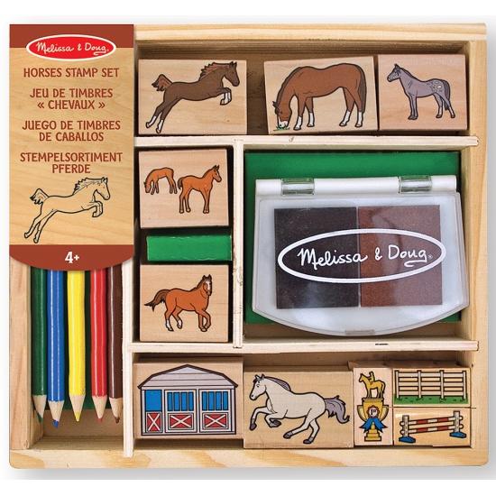 Complete paarden stempelset