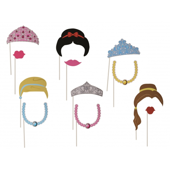 Dames accessoires op stokje 12 stuks