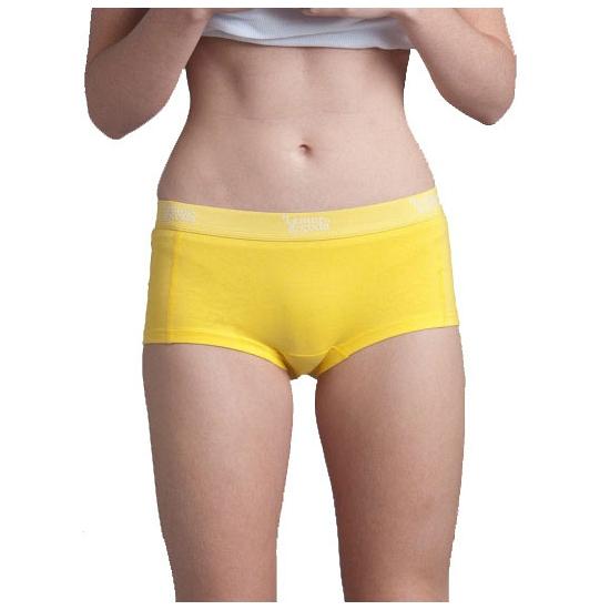 Dames boxers fel geel