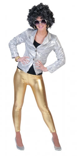 Dames legging goud