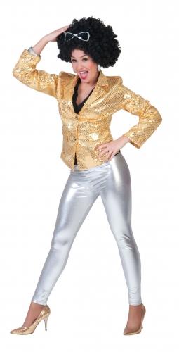 Dames legging zilver