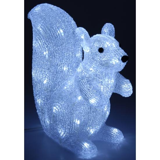 Decoratie eekhoorn met 180 LED lichtjes
