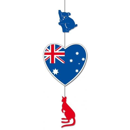 Decoratie materiaal Australie karton 85 x 30 cm