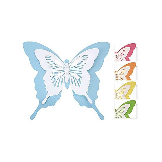 Decoratie vlinder voor in de tuin 39 cm