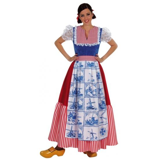 Delftsblauwe boerinnen jurk