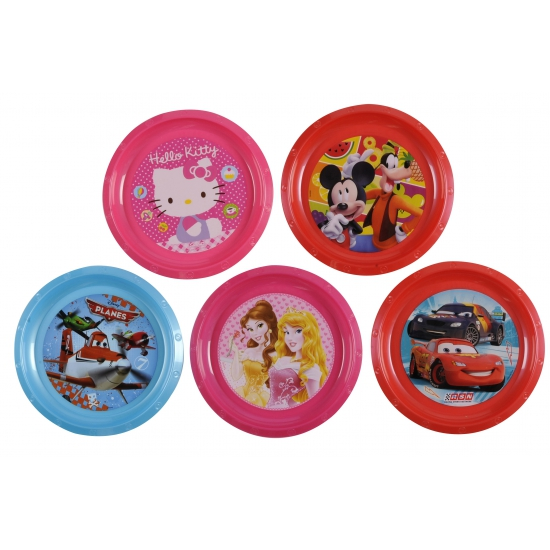 Disney Princess thema bordje 21 cm