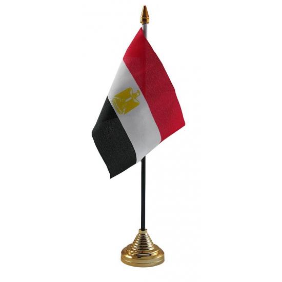 Egypte vlaggetje voor op tafel