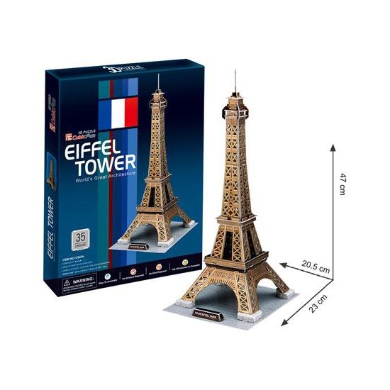 Eiffeltoren 3D puzzels