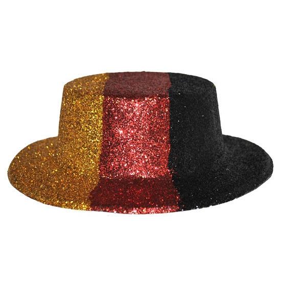 EK glitter hoedjes Duitsland