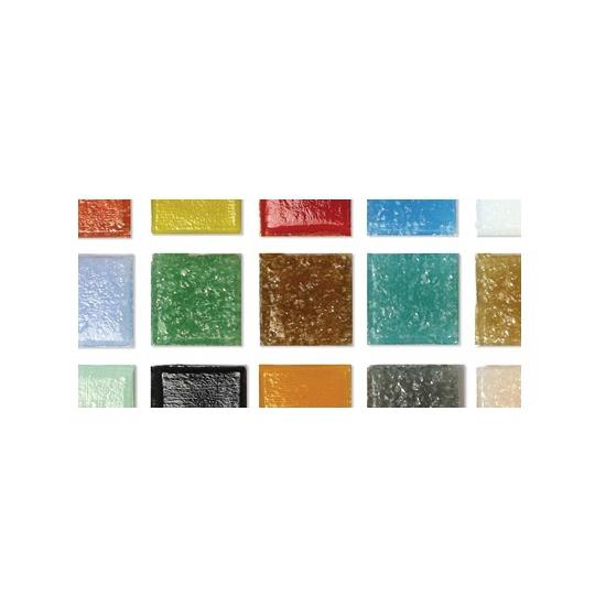 Emmer met assorti mozaiek steentjes