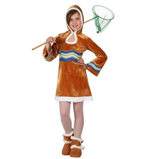 Eskimo carnavalskleding voor meisjes