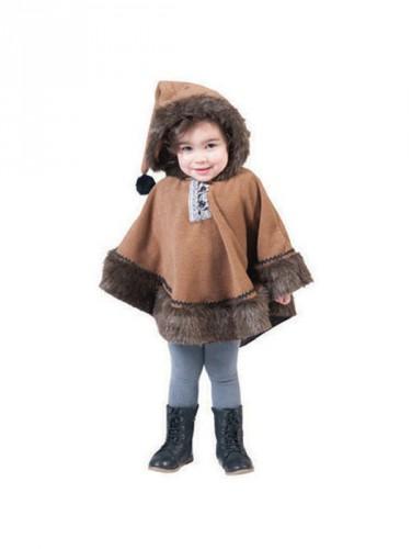 Eskimo poncho voor kids