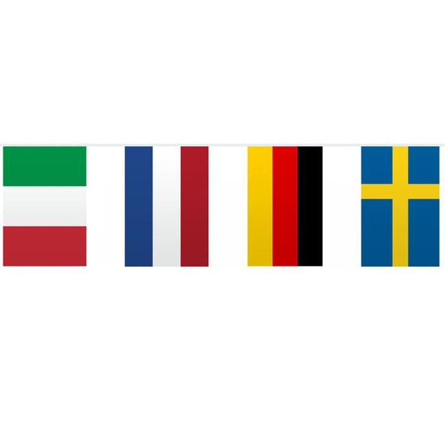 Europese vlaggenlijn 10 meter