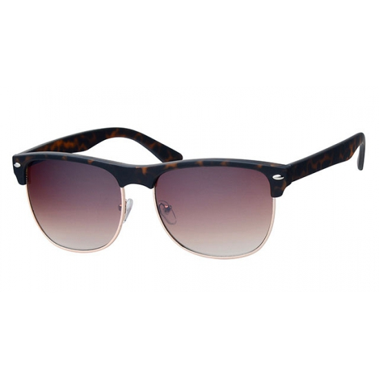 d36f22f6a0c46a Fake bruine Clubmaster bril