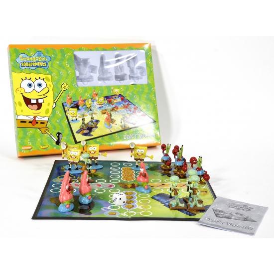 Familie spel Mens erger je niet Spongebob