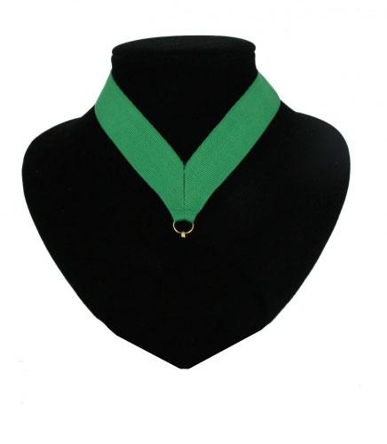 Fan medaille lint groen