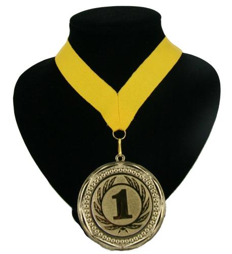 Fan medaille nr  1 lint geel
