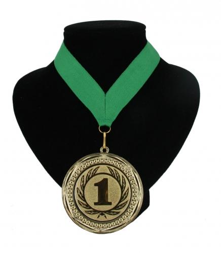 Fan medaille nr. 1 lint groen