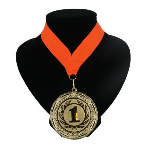 Fan medaille nr  1 lint oranje