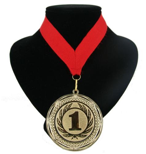 Fan medaille nr  1 lint rood