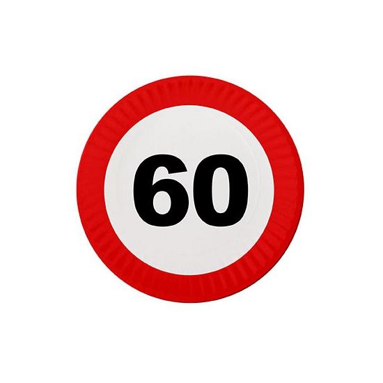 Feest borden 60 jaar