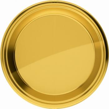 Feest borden goud 18 cm