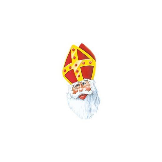 Feestartikelen Sinterklaas masker van karton