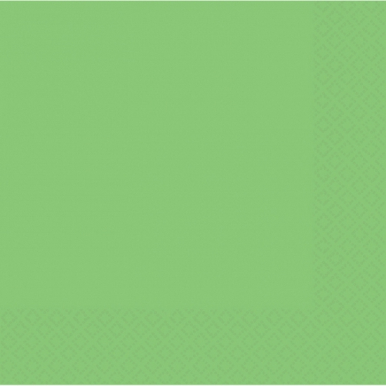 Fel groene servetten 20 stuks