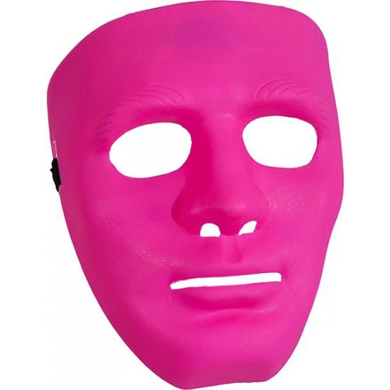 Fel roze masker