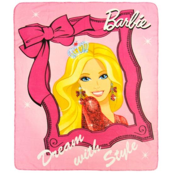 Fleece deken Barbie