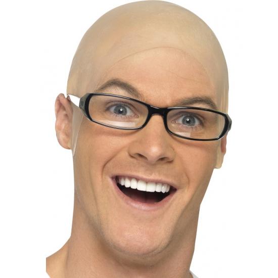 Gabber kaal hoofd pruik