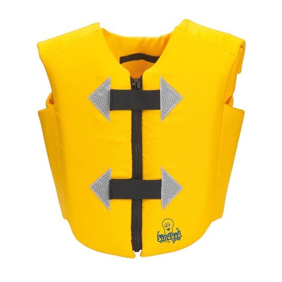 Geel zwemvest voor volwassenen