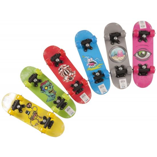 Gekleurd skateboard voor kinderen