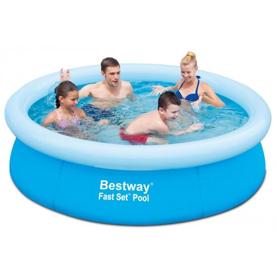 Gekleurd zwembad rond 198 cm