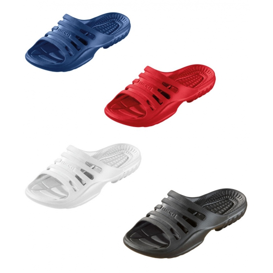 Gekleurde strand sandalen voor heren