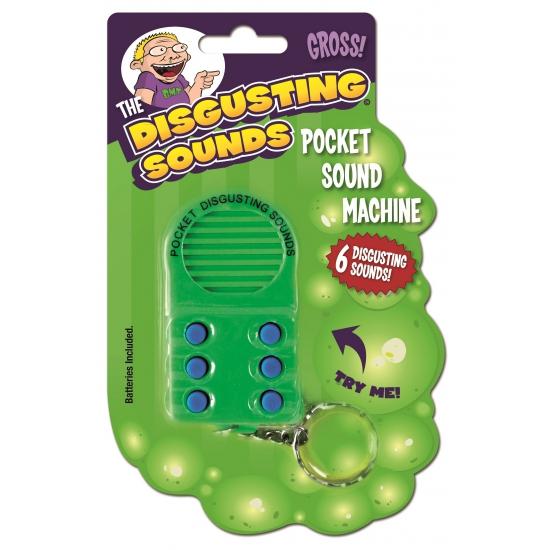Geluidsmachine met vieze geluiden