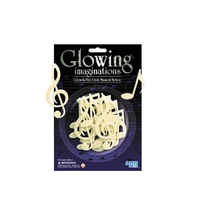 Glow in the dark muziek decoratie