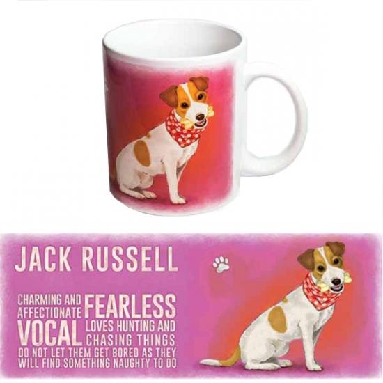 Grote beker Jack Russell