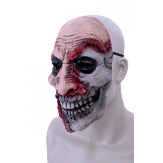 Halloween Half dood gezicht masker