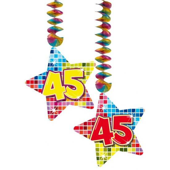 Hangdecoratie 45e verjaardag