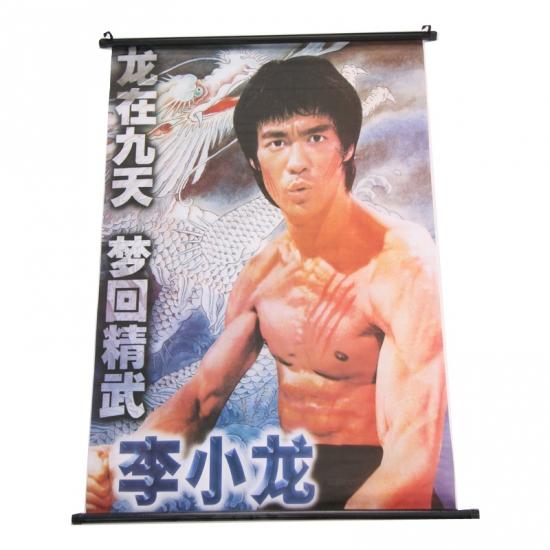 Hangdecoratie poster Bruce Lee