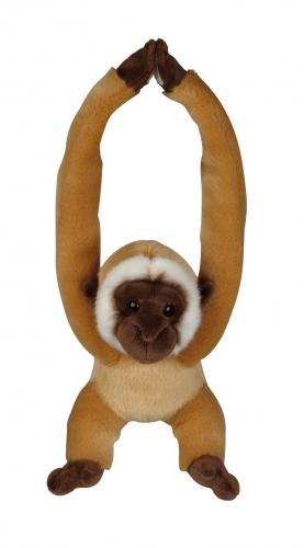 Hangende gibbon aap knuffel 40cm