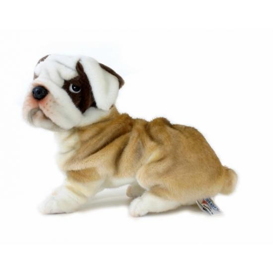 Hansa bulldog knuffel 27 cm