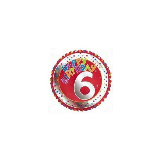 Happy Birthday 6 jaar verjaardag