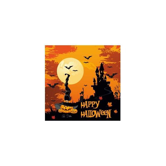 Happy Halloween servetten