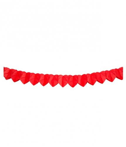 Hartjesslinger 2 meter rood