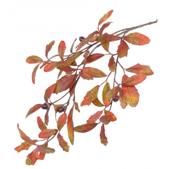 Herfst versiering eikentak 67 cm