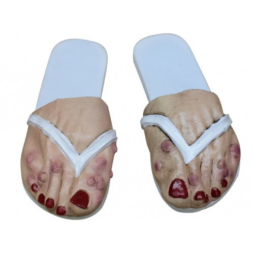 Horror dames slippers