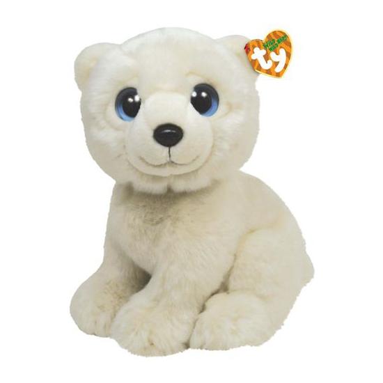 Ijsberen knuffel wit 28 cm