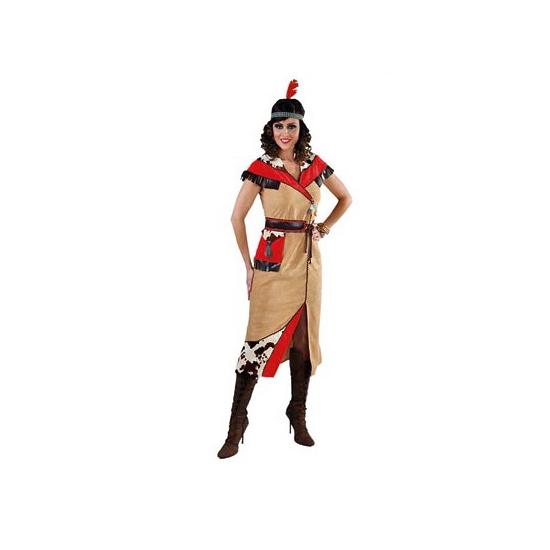 Indianen jurk met riem